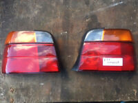 BMW E36 Compact rear lights std