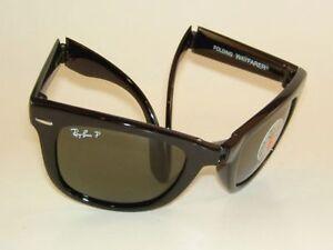 87397e7473 ... clearance new ray ban sunglasses folding wayfarer rb 4105 601 58  polarized green 50mm f1268 b7057