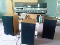 Panasonic SG-1070L Panasonic Amplifier SU-2600 ,Tape Deck 618, Tuner ST-2600L