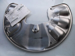 Mercedes-Benz GL, ML Front Left Brake Shield. BRAND NEW