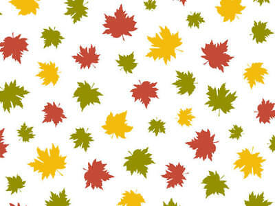 FALLING MAPLE LEAVE Design Tissue Paper Sheets - 20