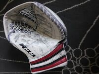 CCM Extreme Flex Pro Hockey Goalie Glove, 600 Model Pro Return