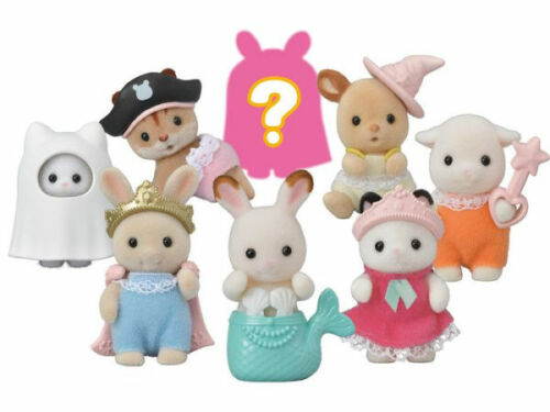 Calico Critters Baby Costume Series Blind Bag, Doll Figure & Accessory!