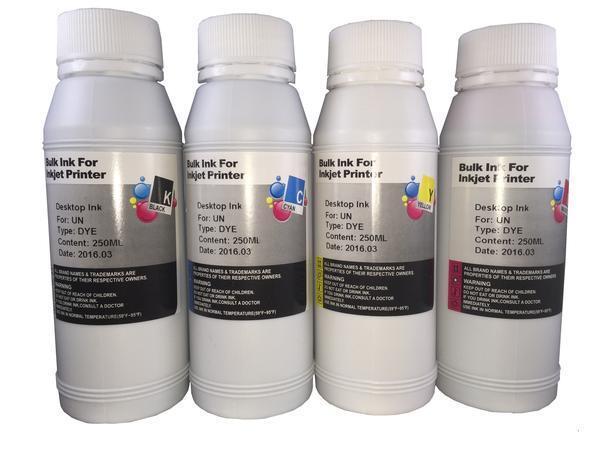 4 Bottles 250ml Ink Refill Kit For Hp 21 22 27 28 56 57 74 75 60 60xl 61 61xl