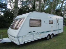 04 Swift Conqueror 580/4 Sal Twin Axle Caravan (1 owner/cris reg/just serviced)