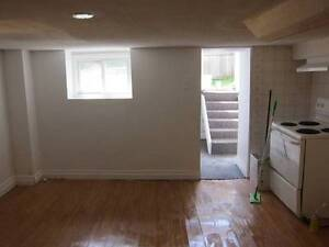 1 Bedroom Basement Apt, 10min walk to Lansdowne subway station
