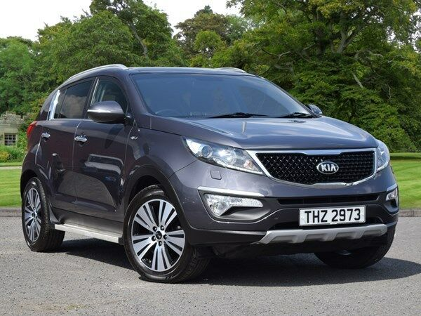 kia sportage 2 0 crdi kx 3 5dr sat nav grey 2015 in. Black Bedroom Furniture Sets. Home Design Ideas