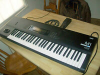 Korg M1 synthesizer (synth)