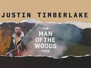 Justin Timberlake Concert | Man of the Woods Tour - 2 Tickets