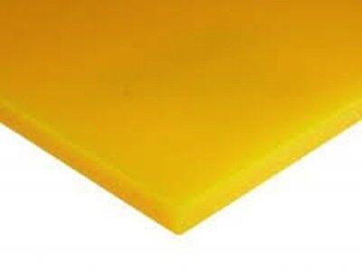 Golden Yellow Translucent Acrylic Plexiglass Sheet 18 X 11 X 11 2016