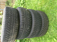 4 Winter Tires Excellent Condition!