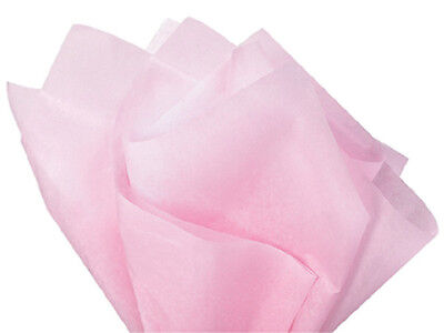Light BLUSH BABY PINK Tissue Paper Bulk WHOLESALE Gift Wrapping 100 sheet 15x20 - Blush Tissue Paper