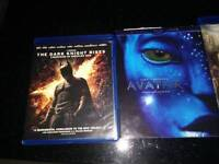 4 excellent condition bluray movies