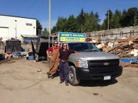 Hauling Services / Junk Removal - Saanich & Sidney
