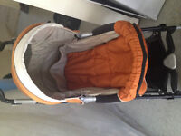 Like NEW PEG PEREGO PRAMETTE P3, 2 IN 1 STROLLER, With 2 FREE