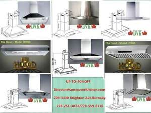 DVK Stainless Hood Fans on sale Up to 60 % off starts from