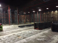 Pallet racking wanted, BEST prices paid