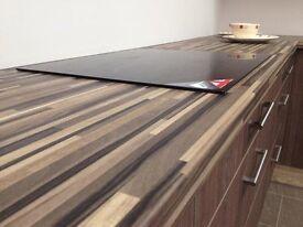 Bushboard Omega Ebony Stripwood (Ultramatt) - B107 -Worktop (2 metres) (New)