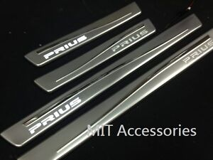 Toyota-PRIUS-GEN-III-10-up-LED-light-door-sill-plate-stainless-steel-enhancement