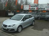 2011 SEAT IBIZA S 1.2TD ONLY 49,620 MILES, FULL SERVICE HISTORY, £20 A YEAR TAX