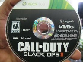 BLACK OPS 2 - DISC ONLY - PERFECT CONDITION