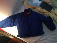 Selling Vintage Blue Ralph Lauren Bomber Winter Jacket
