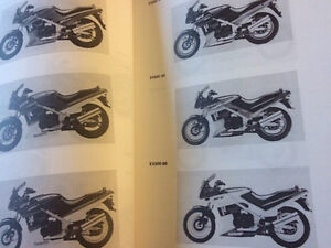 1987-1993 Kawasaki EX500 Service Manual Supplement Regina Regina Area image 3