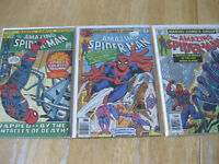 Vintage Amazing Spiderman comic collection