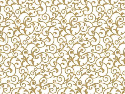 - ELEGANT GOLD SCROLL Design Tissue Paper Sheets  20