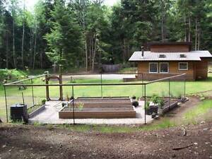 Small Home For Sale on 6 Acres (Malcolm Island)