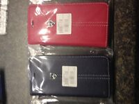iPhone-6 leather case with credit card-$20.