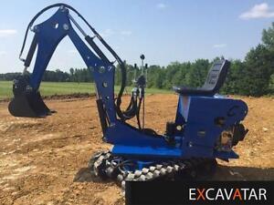 Mini-excavatrice Excalibur 360