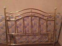 Nice metal headboard-possible delivery