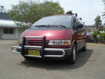 Ex Rental Toyota Tarago Gli  for sale- Sydney Woolloomooloo Inner Sydney Preview