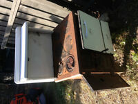 Wood burning cook stove - antique