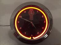 Kenworth Neon Clock