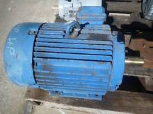 WESTERN ELECTRIC 10HP 3 PHASE ELECTRIC MOTOR/ 1440RPM Huntfield Heights Morphett Vale Area Preview