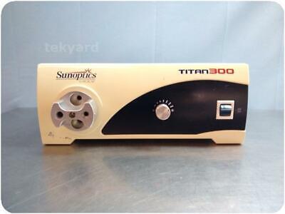 Sunoptics Surgical Titan300 S300t Light Source 256460