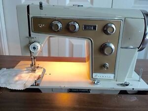 1960s Kenmore sewing machine with and Attachments!