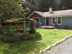 Beautiful 3 bedroom rancher on acreage for rent now