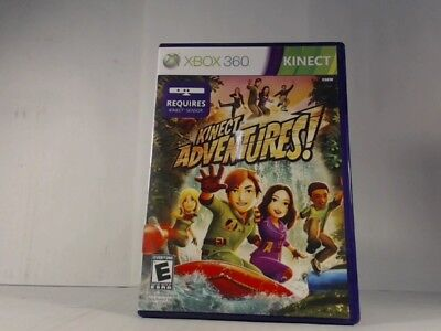 KINECT ADVENTURES XBOX 360 COMPLETE IN BOX W/ MANUAL CIB VERY GOOD for sale  Shipping to Nigeria