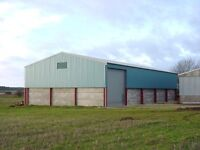 Renovated agricultural buildings available to rent Oakham in Rutland. Workshop & storage space,