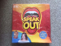 Brand New Sealed Hasbro Speak Out Game