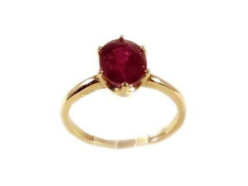 Ruby Ring Siam 2¾ct Antique 19thC Ancient Hebrew Biblical Amulet Lord of Gems
