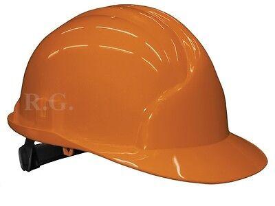 elm Helm Schutzhelm Schutzhelme Farbe orange (Orange Schutzhelm)