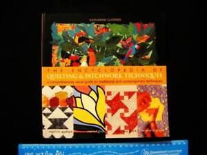 Quilting & Patchwork Techniques: Encyclopedia of - K Guerrier Loganholme Logan Area Preview