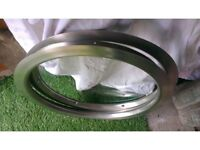 Stainless steel round circular port hole windows camper van caravan