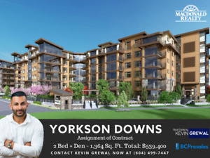 Assignment: YORKSON DOWNS in Willoughby Town Centre - 2 BD + DEN