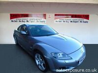 MAZDA RX8 231 SIX SPEED 4 DOOR SPORTS SALOON WITH FULL LEATHER
