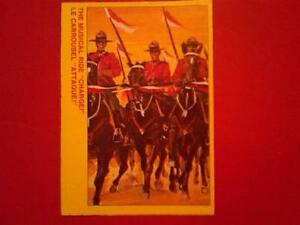 *** RCMP Mounted Police O-Pee-Chee OPC Mounties 1873-1973 Cards